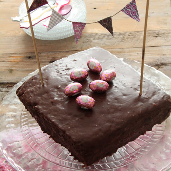 Easter Chocolate Cake, a Recipe from Patrick Roger