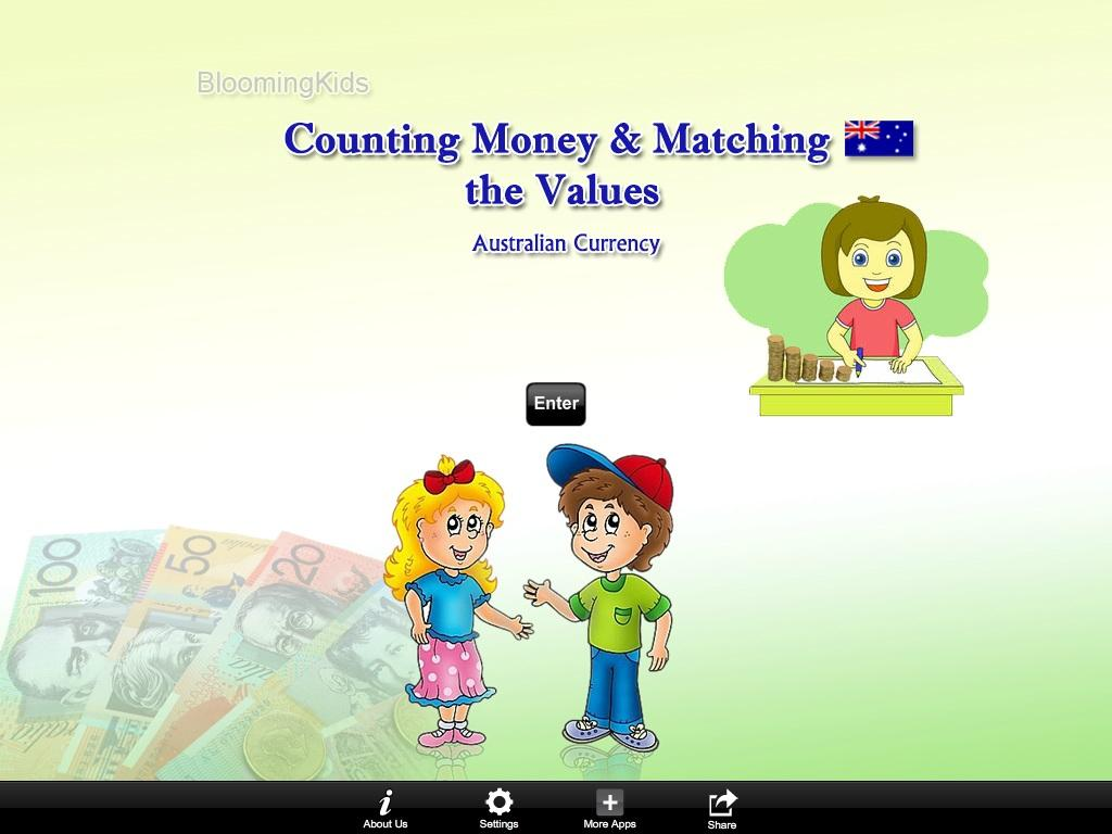 Australian Counting Matching- screenshot