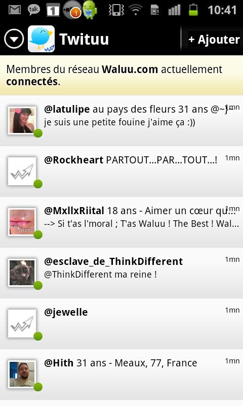 Waluu : Rencontre et Humour - screenshot