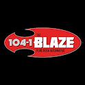 104.1 The Blaze icon