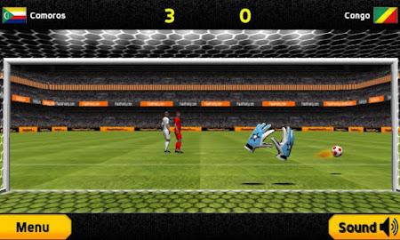 Goalkeeper Premier Soccer Game 1.08 screenshot 644324
