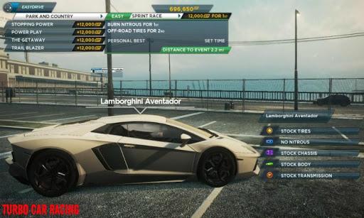 【免費賽車遊戲App】Turbo Car Racing-APP點子