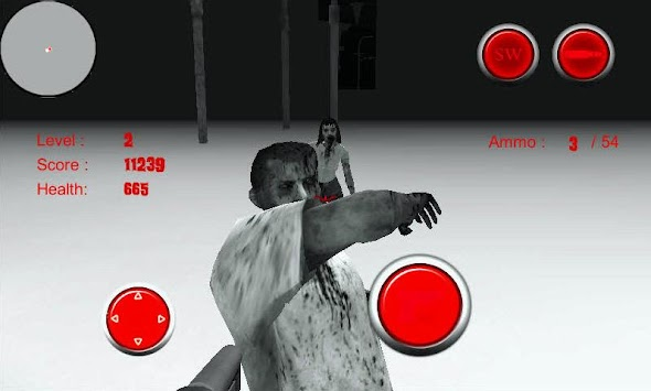 The Dark Corner : Zombie Demo apk screenshot