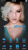 Screenshot of Vapor Shark Mobile