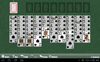 Screenshot of Astraware Solitaire