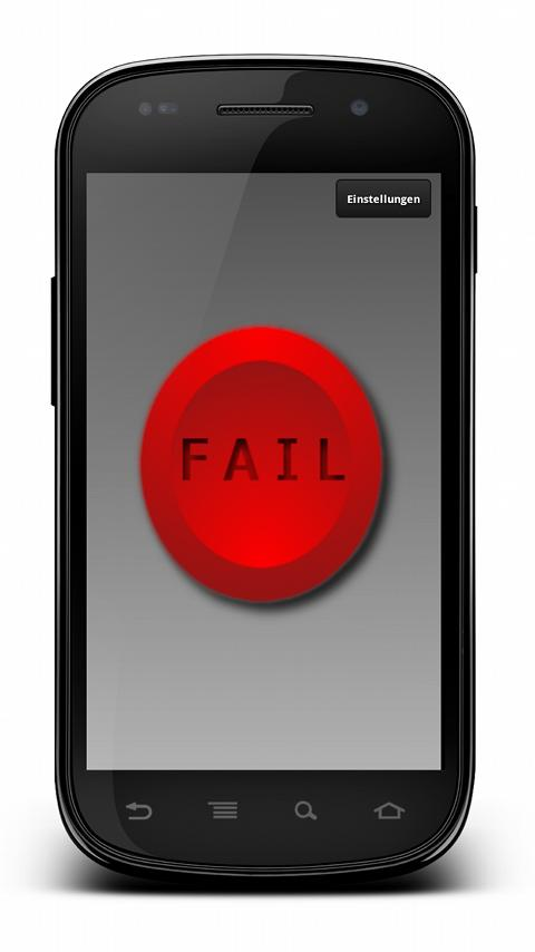 FAIL Button ★ PRO Widget - screenshot