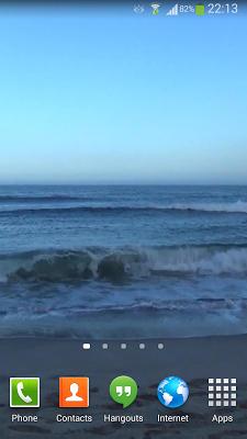 Waves Live Wallpaper HD 16 - screenshot