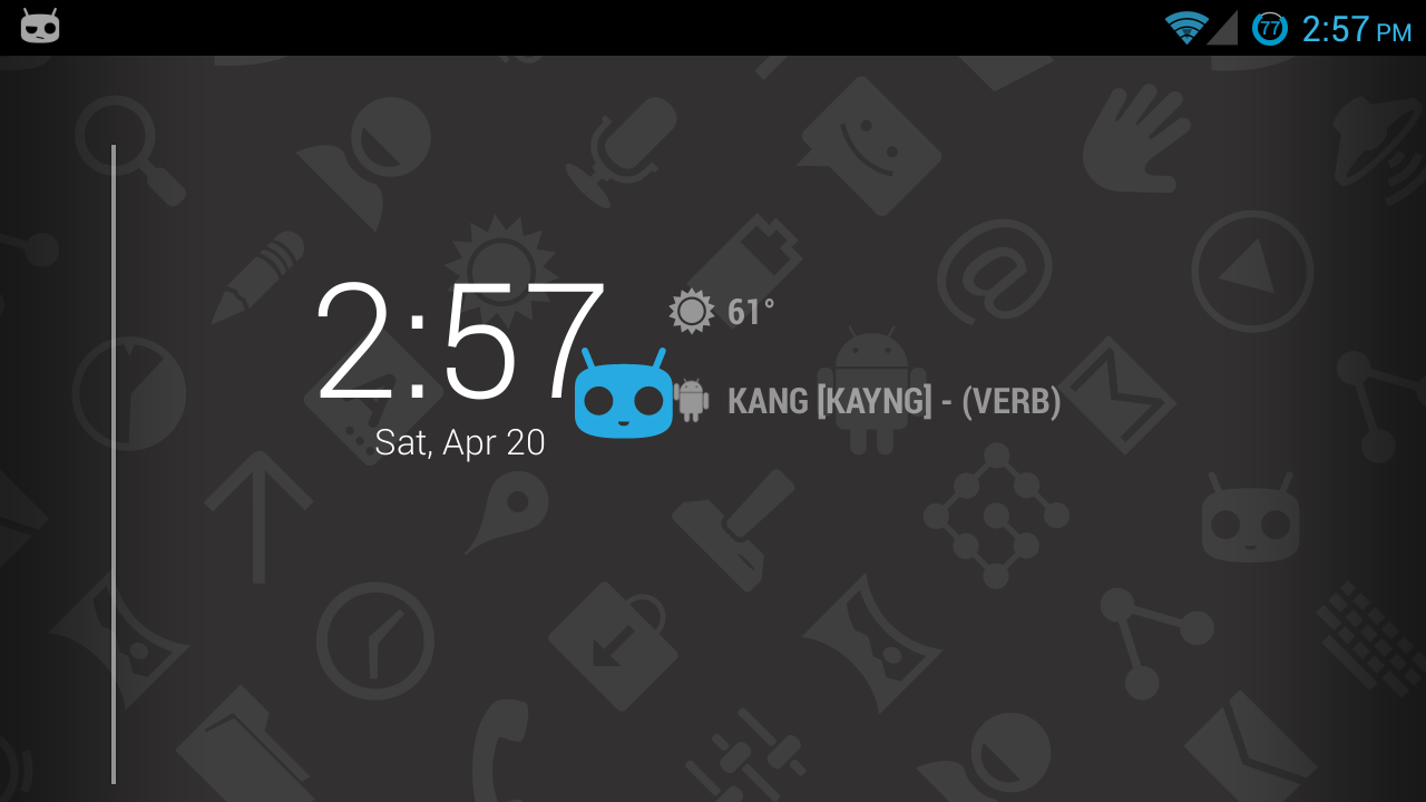 Protips on DashClock - screenshot