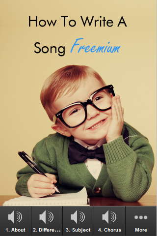How To Write A Song Freemium