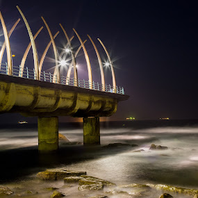 Whale Bone Pier by Marc Anderson - Buildings & Architecture Architectural Detail ( umhlanga, south africa, whale bone pier, marc anderson )