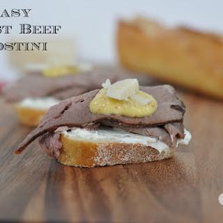 Roast Beef Crostini