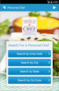 Find & Hire a Chef- screenshot thumbnail