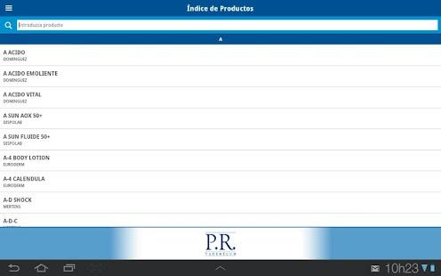 PR Vademécum Argentina - screenshot thumbnail