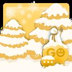 GO SMS Christmas Snow Theme icon