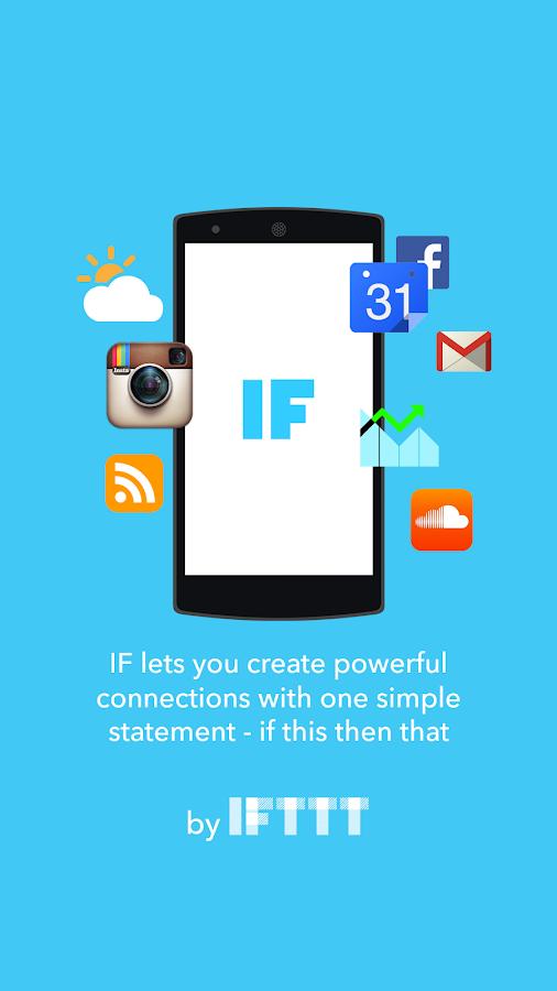IF by IFTTT - screenshot
