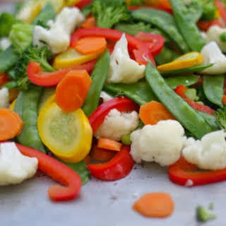 Stir-fry Vegetable Freezer Packages.