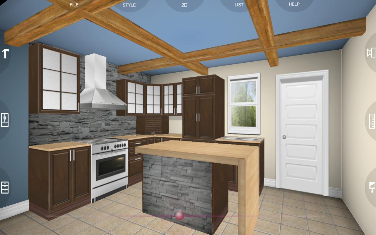 Eurostyle Kitchen 3d Design Screenshot