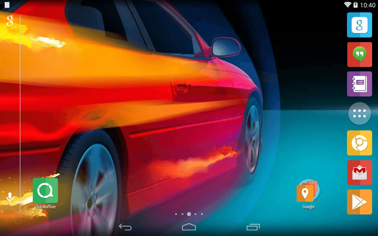 Google themes cars - Car Theme Screenshot