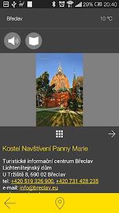 Břeclav - audio tour- screenshot thumbnail