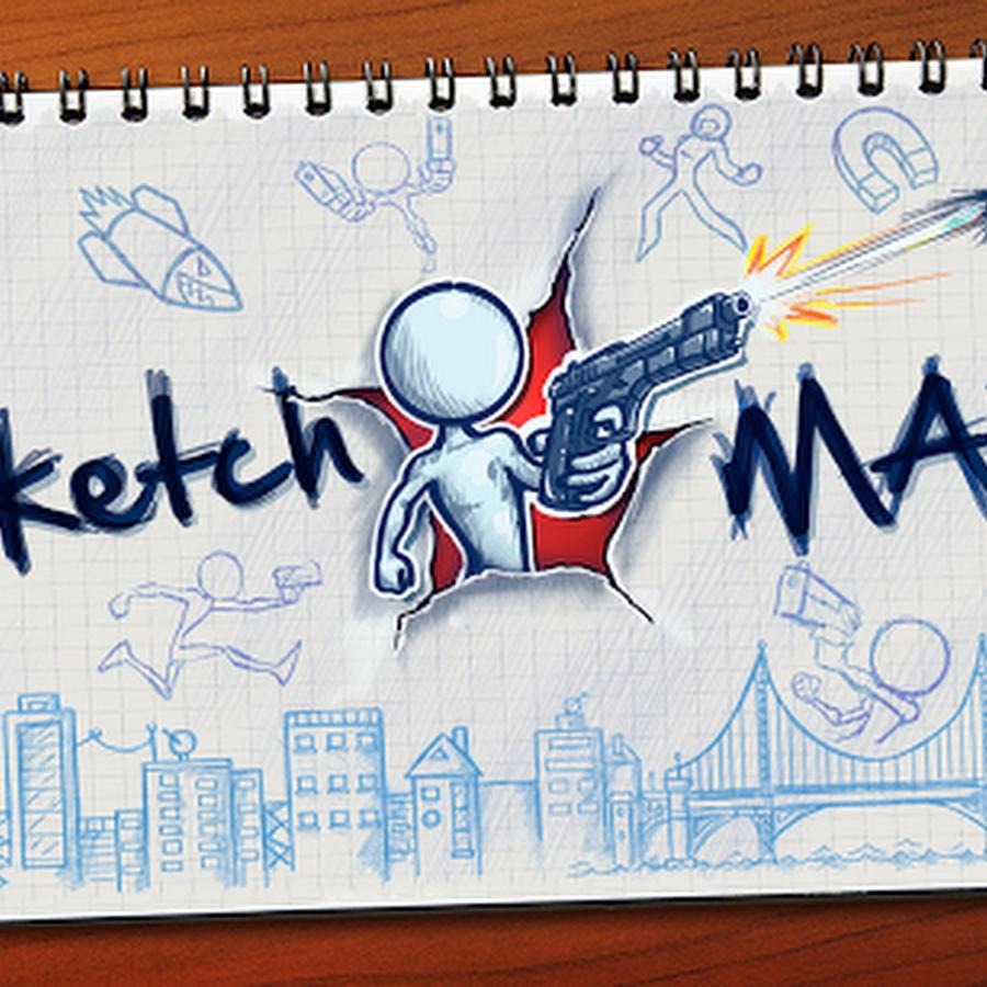 لعبة المغامرات بالرسم : Sketchman v1.0.4 مهكرة جاهزة 3RaQ Android