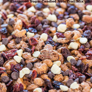 Cinnamon Sugar Candied Nuts Trail Mix