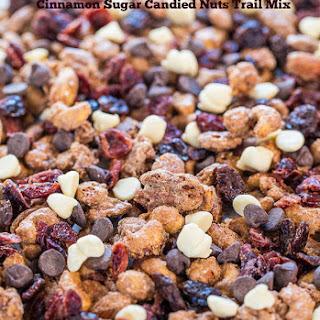 Cinnamon Sugar Candied Nuts Trail Mix.