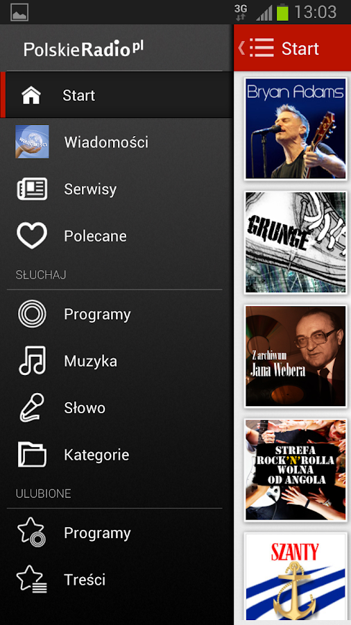 Polskie Radio- screenshot