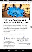 Screenshot of De Volkskrant app