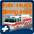 Fire Truck City Simulation 3D icon