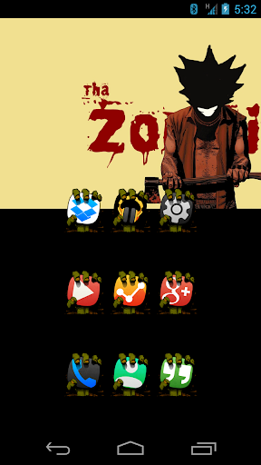 Tha Zombie - Icon Pack