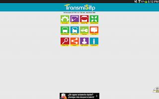 Screenshot of Transmilenio y Sitp