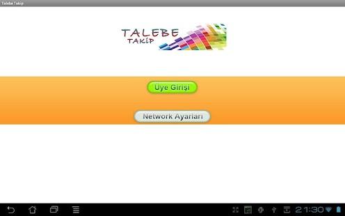 TALEBE TAKIP PROGRAMI - screenshot thumbnail