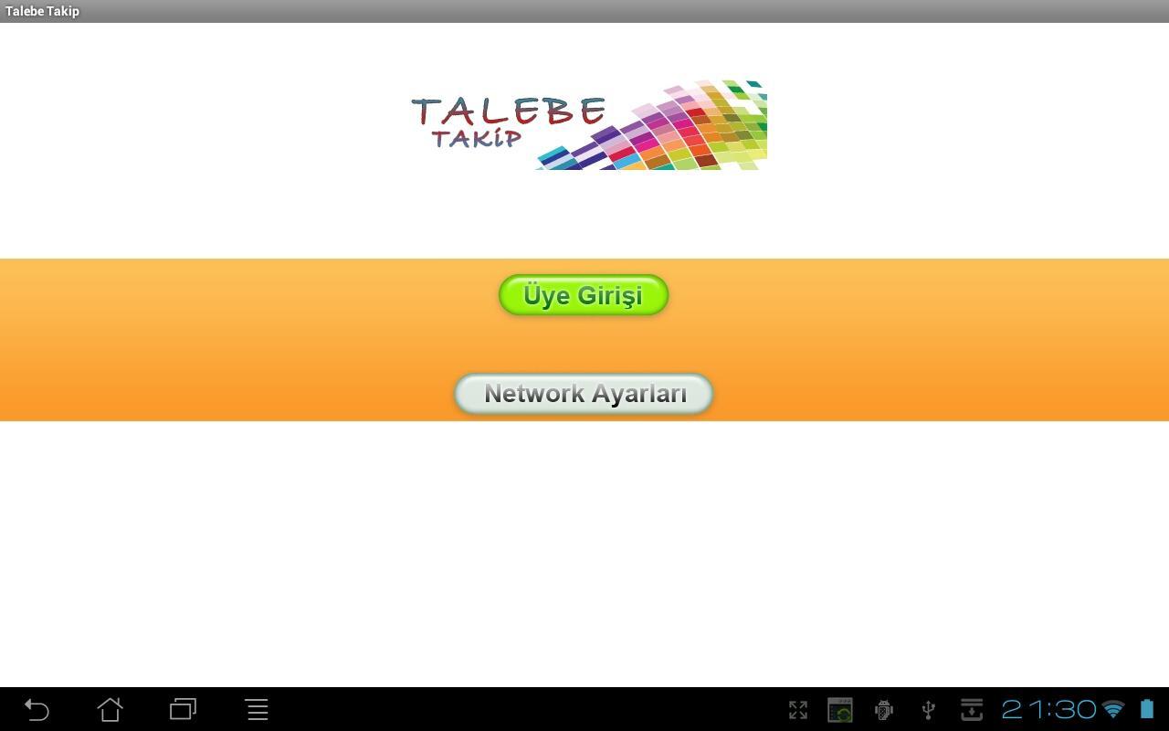 TALEBE TAKIP PROGRAMI - screenshot