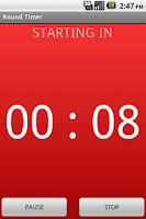 Screenshot of Round Timer for MMA & Boxing