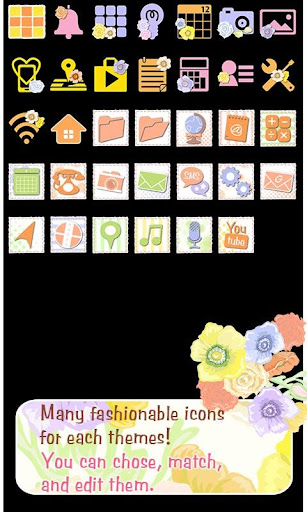 Flowers Theme-Colorful Flower- 1.0 Windows u7528 4