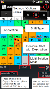 Shift Calendar (Shift Roster) - screenshot thumbnail