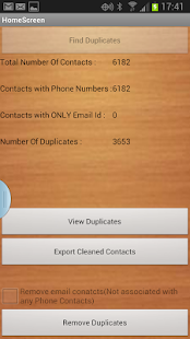 Duplicate Contacts Remover- screenshot thumbnail