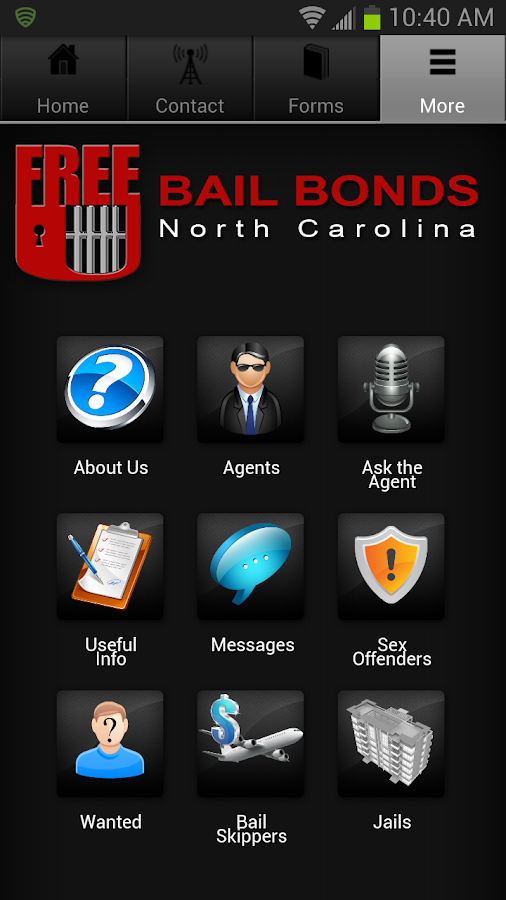 Free U Bail NC- screenshot
