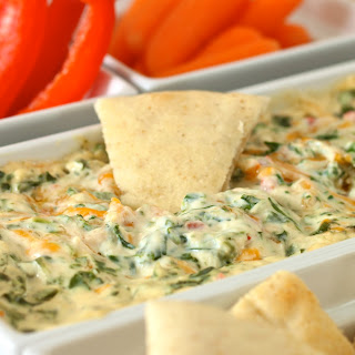 Four Cheese Spinach Dip Kelsey's Style.