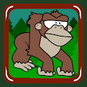 Flying Gorilla (get banana) icon