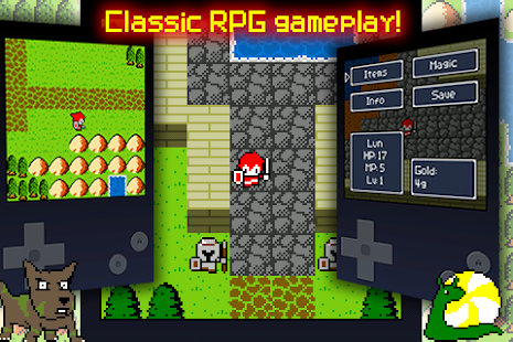 Aidinia • 8-bit RPG (Lite) - screenshot thumbnail