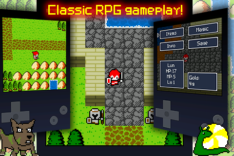 Aidinia • 8-bit RPG (Lite) - screenshot