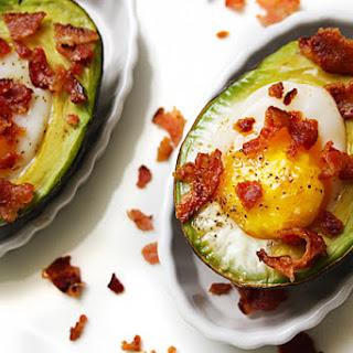 Baked Avocado & Egg.