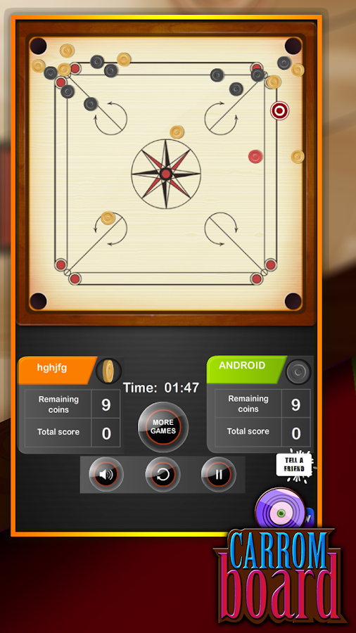 Carrom Board- screenshot