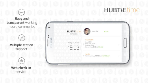 HubTie Time 1.4 screenshots 3