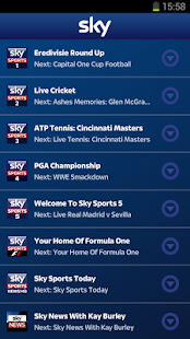 Sky Sports Mobile TV- screenshot thumbnail