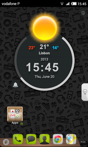 TSF Shell Glow Theme HD
