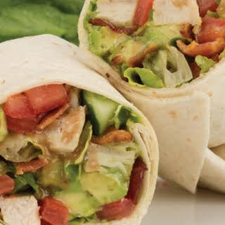 Fajita-Ranch Chicken Wraps.