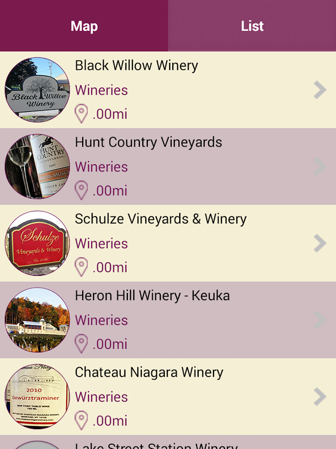 NY Wine Country- screenshot