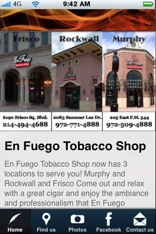【免費商業App】En Fuego Tobacco Shop-APP點子